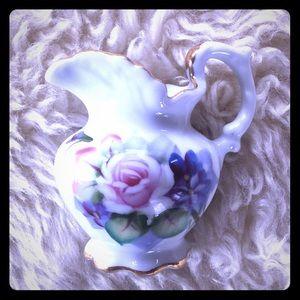 Mini Hand Painted Floral Vase